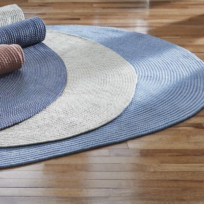 Palm Springs Reversible Braided Rug