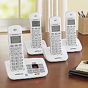 motorola 4 handset cordless phone answering system