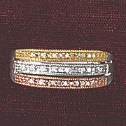 postpaid diamond 3 color band