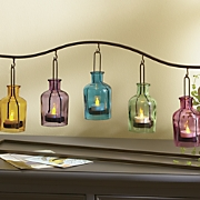 rainbow tealight holder