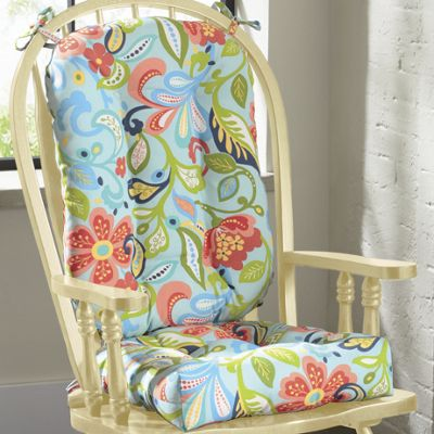 Rocking Chair Seat and Back Cushions