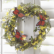 wildflower hill wreath