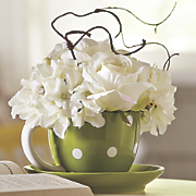 coffee cup floral