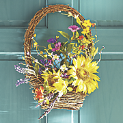 Handcrafted Basket Wall Décor
