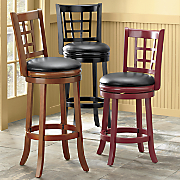 lattice back stools