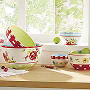 5 pc country bowl set