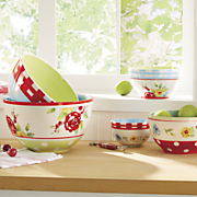 5 pc country bowl set