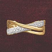 postpaid diamond 3 band ring
