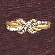postpaid diamond x band ring