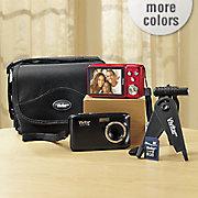14 1 mp digital camera bundle with 4x zoom by vivitar
