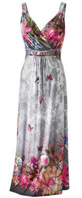 Butterfly Hawaiian Dress
