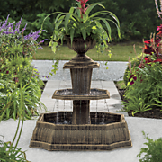 caserta 3 tier fountain planter