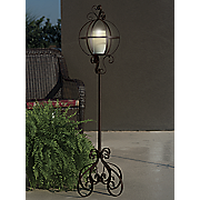 garden candle stand
