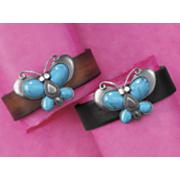 butterfly leather strap bracelet