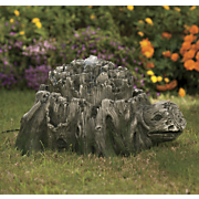 faux wood turtle fountain