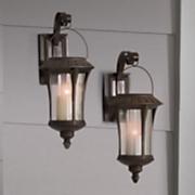 solar lantern sconce 218
