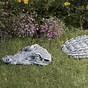 3-Piece Crocodile Stepping Stone