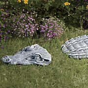 3 piece crocodile stepping stone