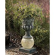 solar urn planter