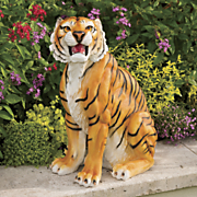 land of the tiger statue