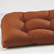 wicker settee cushion 72