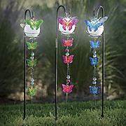 3-Piece Solar Butterfly Stake Set