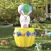 pop up easter bunny inflatable