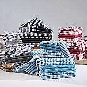 14 piece waffle weave towel set