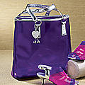 Canary Lucite Tote