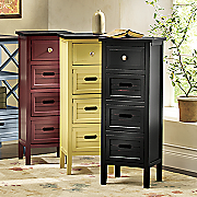 4-Drawer Rustic Cabinet