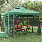 hunter green gazebo
