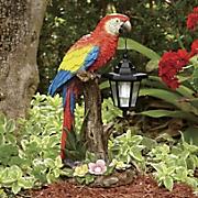 solar parrot w lantern