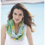 summer bright infinity scarf