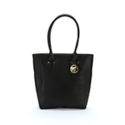 structured tote bag
