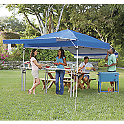 gazebo with awnings
