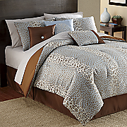 7-Piece Animal Jacquard Bed Set and Window Treatments