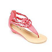 braided rhinestone sandal by midnight velvet
