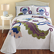 Layla Chenille Bedspread and Sham