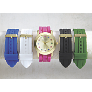 interchangeable strap watch