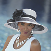 Zoi Feather Hat by Betmar
