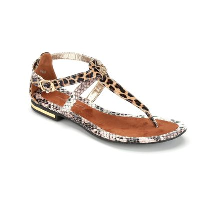 Multi Media Animal Sandal by Midnight Velvet