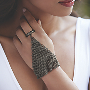 mesh hand jewelry