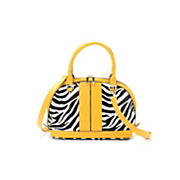 Zebra Dome Bag