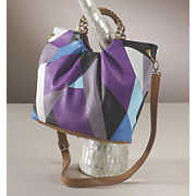 Diamond Overlap Bag