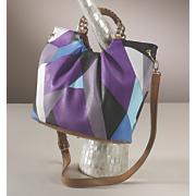 diamond overlap bag