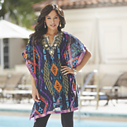 Metallic Beaded Caftan