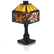 butterfly rose table lamp