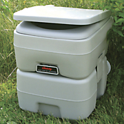 century camping portable toilet and supplies
