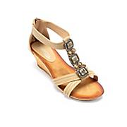 mauve wedge by spring footwear