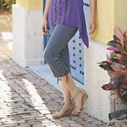 lace up capri 27
